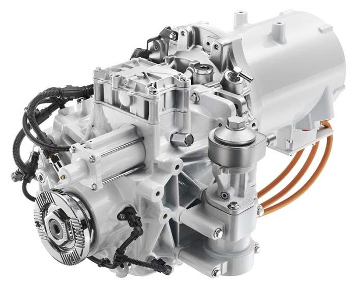 Motor eléctrico del Volvo FL Electric