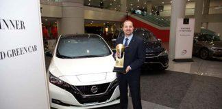 Nissan Leaf, 2018 World green car of the year