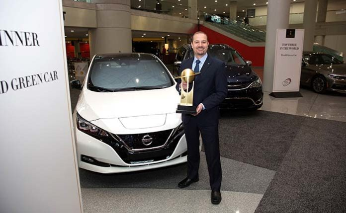 Nissan Leaf, 2018 World green car of the year