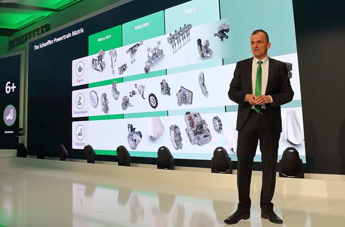 Matthias Zink, CEO Automotive OEM de Schaeffler