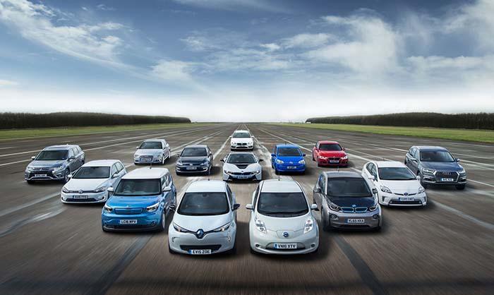 Vehículos eléctricos en Reino Unido