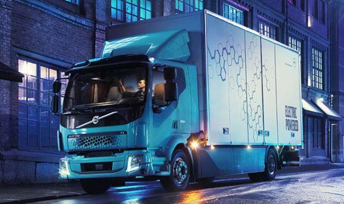 Volvo FL Electric, el primer camión eléctrico de Volvo para uso comercial