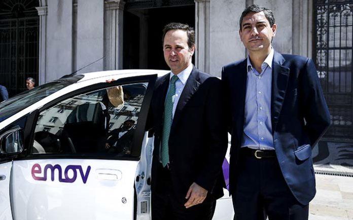 emov se estrena en Lisboa con una flota de 150 coches eléctricos