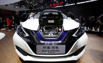 Renault y Nissan recurren a CATL para el suministro de baterías - Nissan Sylphy ZE