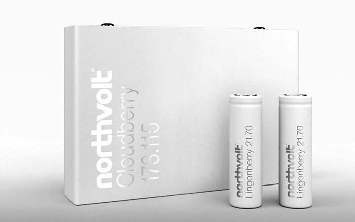 Celdas de batería de Northvolt