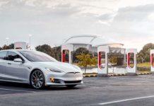 Estación de supercargadores de Tesla