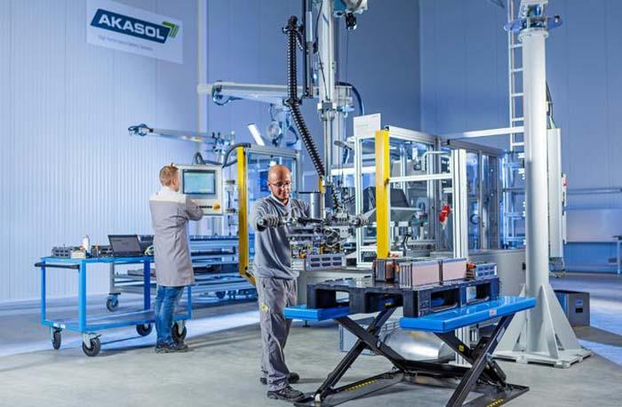Fábrica de baterías de Akasol