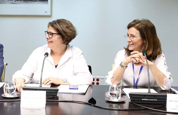 Inés Sabanés, Delegada del Área de Gobierno de Medioambiente y Movilidad y Paz Valiente, Directora General de Sostenibilidad y Control Ambiental del Ayuntamiento de Madrid