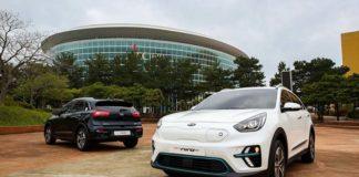 El Kia Niro Eléctrico se presenta en Corea