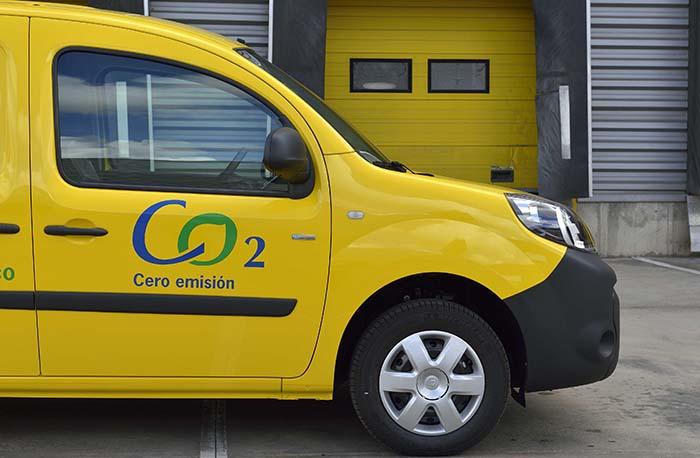 Nueva Renault Kangoo ZE de Correos