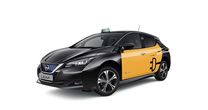 Nuevo Nissan Leaf taxi de Barcelona