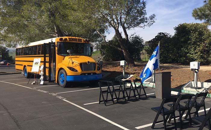 Presentación del autobús escolar eléctrico eLion C