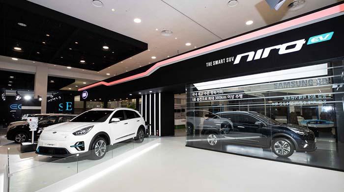 Quinta edición de la exposición internacional de vehículos eléctricos de la isla coreana de Jeju