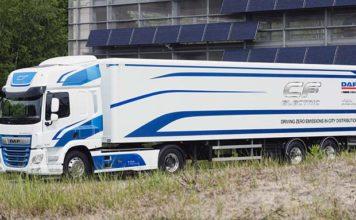 El camión eléctrico de DAF con 170 kWh de batería y 100 kilómetros de autonomía
