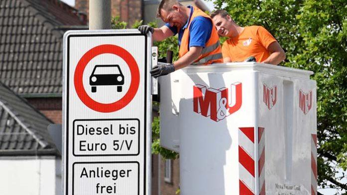 Hamburgo prohibirá la circulación de los diésel más antiguos en dos calles de la ciudad