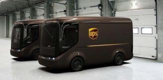 UPS y Arrival desarrollan los primeros prototipos del e-transporter