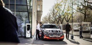 La recarga vinculada del Audi e-tron