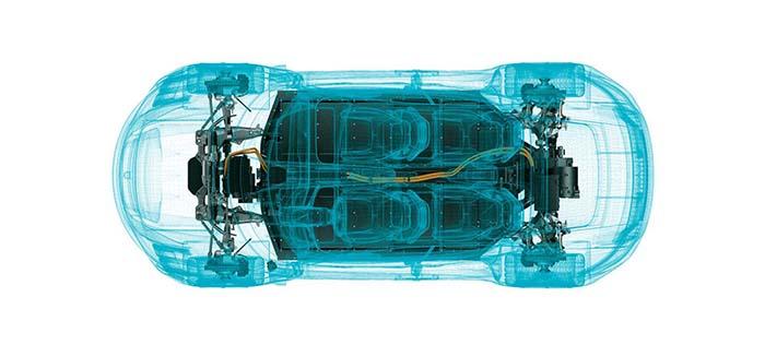 Configuración eléctrica del Porsche Taycan
