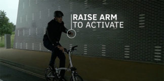 chaqueta inteligente para ciclistas