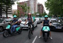 V Marcha del Vehículo Eléctrico en Madrid en VEM 2018