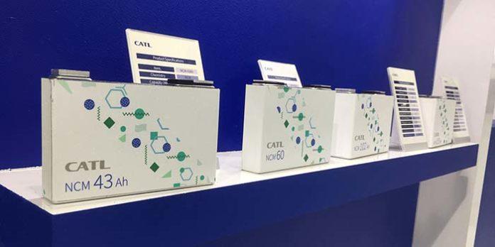 CATL fabricará baterías en Alemania
