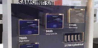 Nueva batería de alta capacidad de Samsung SDI