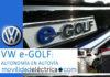 Prueba de autonomía en autovía del Volkswagen e-Golf