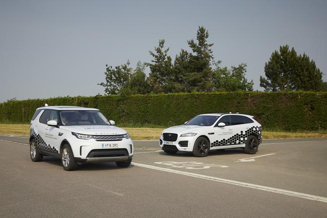 Jaguar Land Rover prueba el vehículo conectado por UK