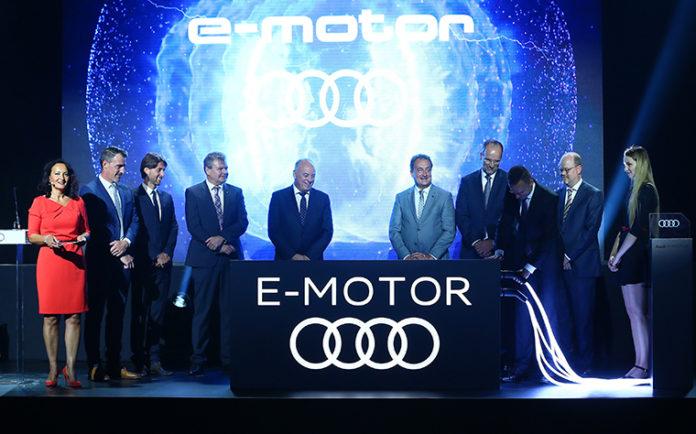 Comienzo oficial en Györ de la fabricación de motores eléctricos de Audi