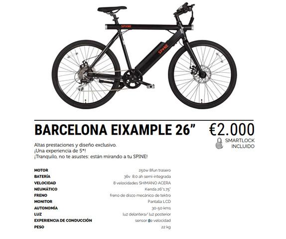 Bicicleta Spine Barcelona Eixample-26