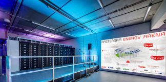 Baterías recicladas para almacenar energía