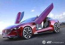 Vehículos eléctricos deportivos para el futuro de MG