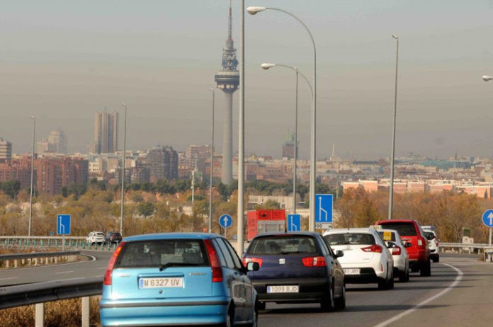 Contaminación Madrid 2017