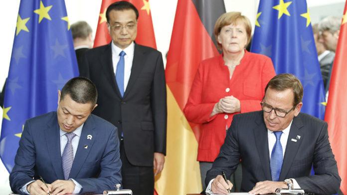 Firma de acuerdo Bosch-NIO