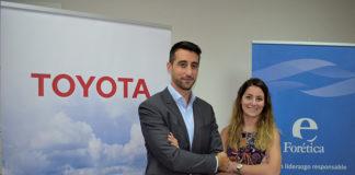 Raquel Suárez, Forética, y Alejandro San Martín, Toyota España
