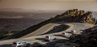 Audi e-tron en la prueba de Pikes Peak