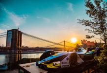 Monoplaza de Audi en Nueva York