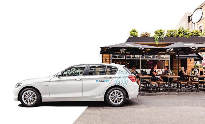 DriveNow carsharing de BMW