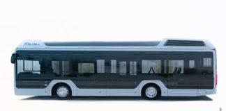 Autobuses de pila de combustible de Toyota