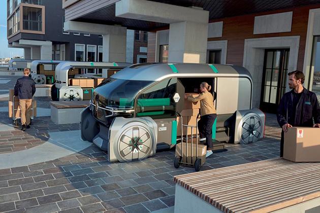 Renault EZ-PRO entrega de mercancías