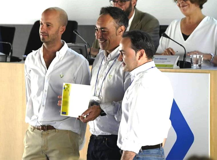 El equipo de Revoolt premio Muévete Verde 2018