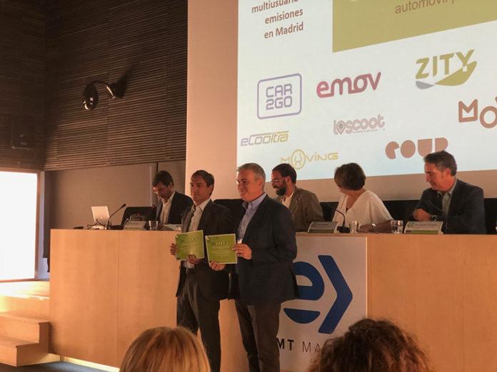 Entrega de premios Muévete Verde a Muving