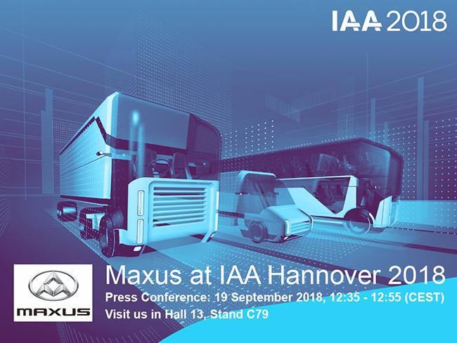 Maxus EV80 en Hannover