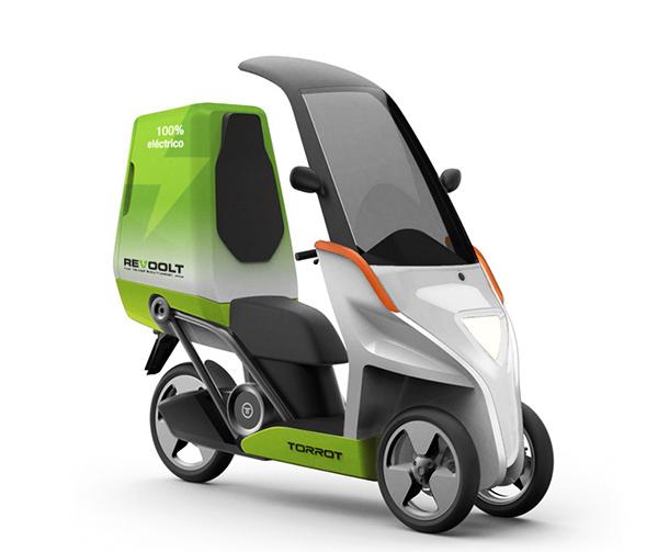 Revoolt vehículo para reparto de última milla sostenible