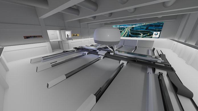 Simulador del Driving Simulation Center de BMW