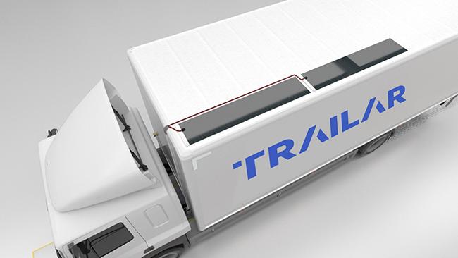 TRAILAR tecnología de energía solar