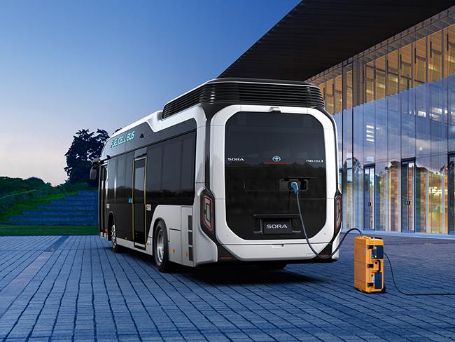 Toyota Sora autobús de hidrógeno