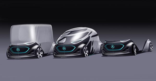 Mercedes Benz Vans Vision URBANETIC