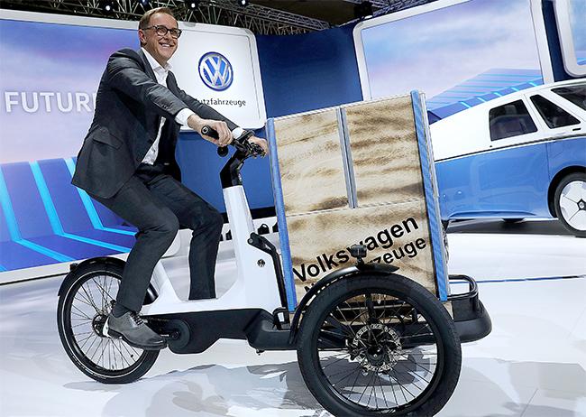 Cargo e-Bike de Volkswagen
