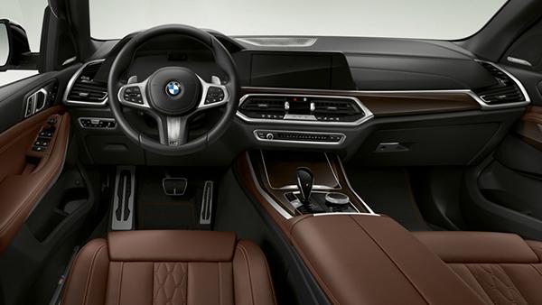 BMW X5 xDrive45e iPerformance interior